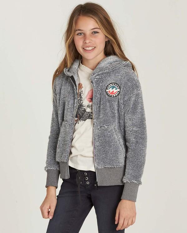 0 Girls' New Love Polar Fleece Hoodie  G605MNEW Billabong