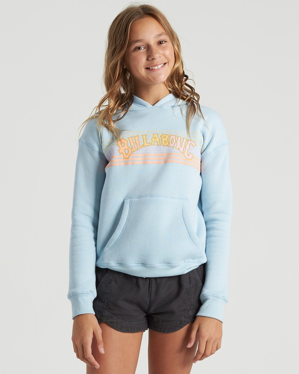 0 Girls' Heritage Stripe Hoodie Multicolor G6513BHE Billabong