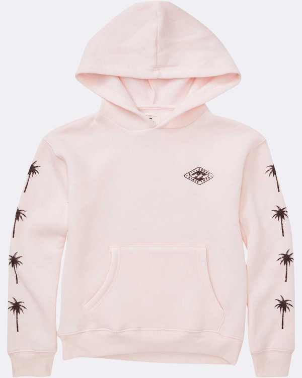 0 Girls' Stay Wild Hoodie Pink G651TBST Billabong