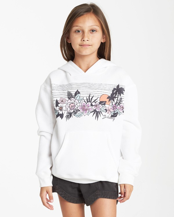 0 Girls' Field Of Vision Hoodie Black G651VBFI Billabong