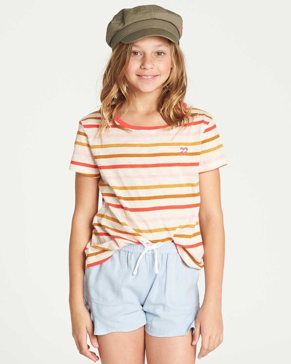 0 Girls' Soul Babe T-Shirt Black G901TBSO Billabong