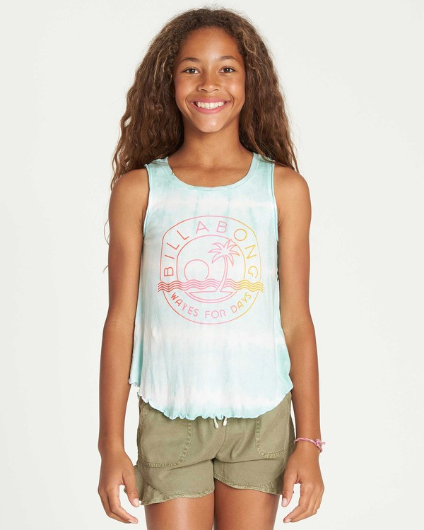 0 Girls' Short N Sweet Tank Top  G907TBSH Billabong