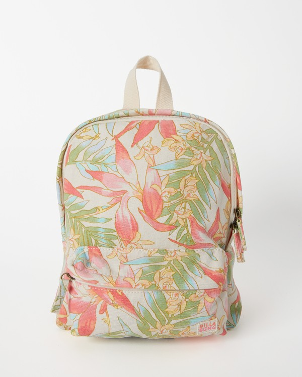 0 Girls' Mini Mama Jr Canvas Backpack Orange GABGWBMI Billabong