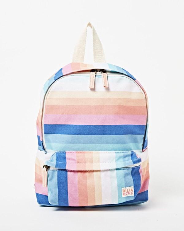 0 Girls' Mini Mama Jr Backpack Grey GABGWBMI Billabong