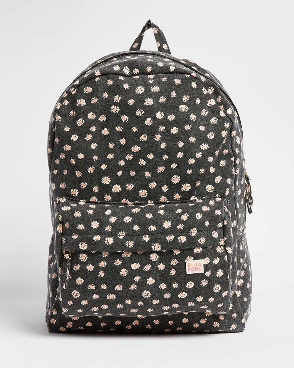 0 Girls' Hand Over Love Jr Backpack Black GABK3BHA Billabong