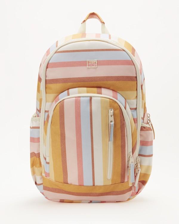 0 Girls' Roadie Jr Backpack Yellow GABK3BRO Billabong