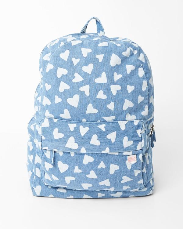 0 Girls' Hand Over Love Jr Backpack Blue GABKVBHA Billabong