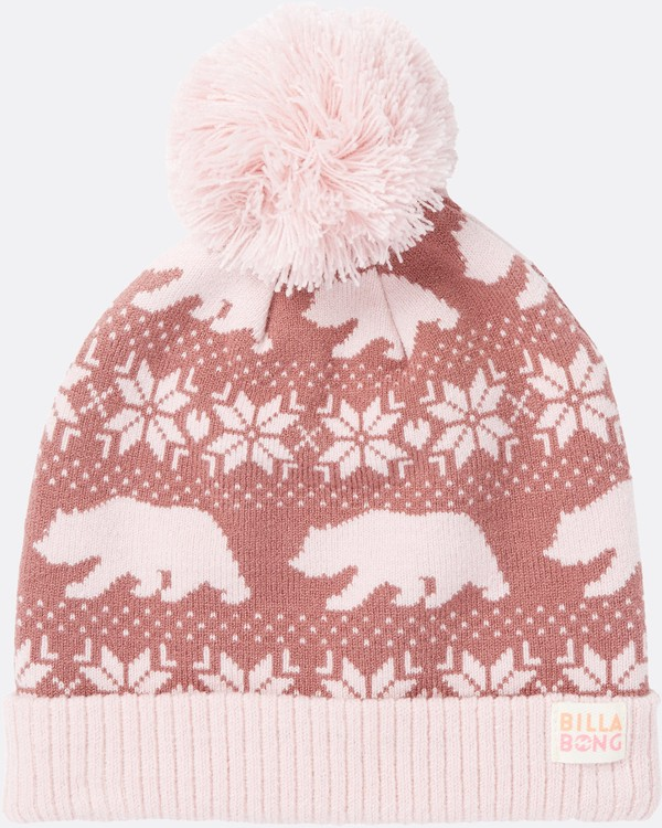 0 Girls' Snow Day Pom Pom Beanie  GABNSBSN Billabong