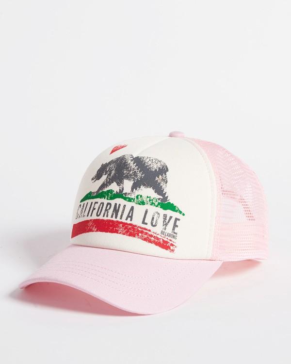 0 Girls' Pitstop Trucker Hat Multicolor GAHTHPIT Billabong