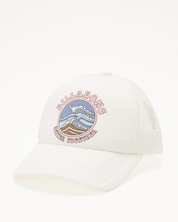 0 Girls' Ohana Trucker Hat Yellow GAHWQBOH Billabong