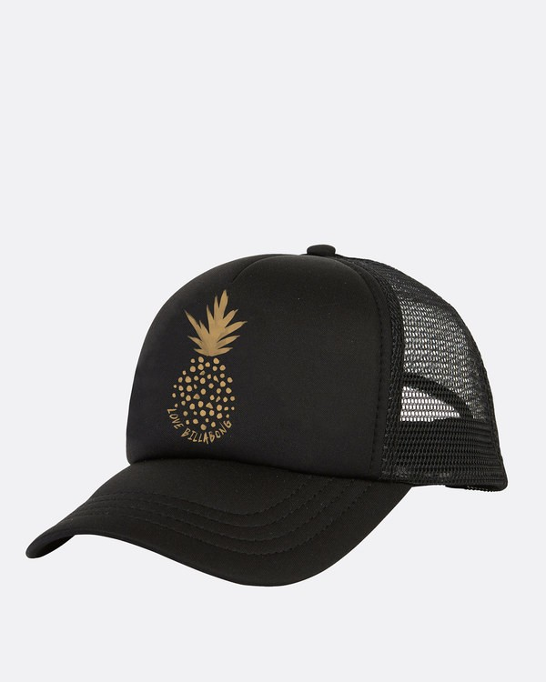 0 Ohana Trucker Hat Black GAHWQBOH Billabong