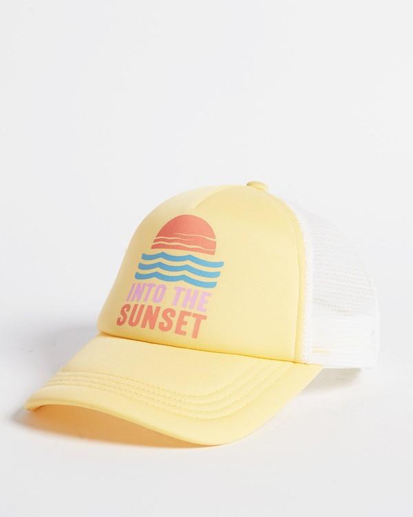 0 Girls' Ohana Trucker Hat Grey GAHWQBOH Billabong
