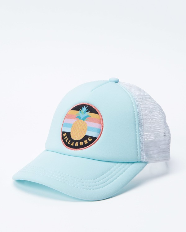 0 Girls' Ohana Trucker Hat Green GAHWQBOH Billabong