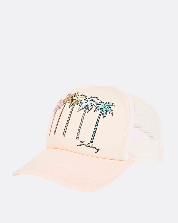 0 Girls' Ohana Trucker Hat Orange GAHWQBOH Billabong
