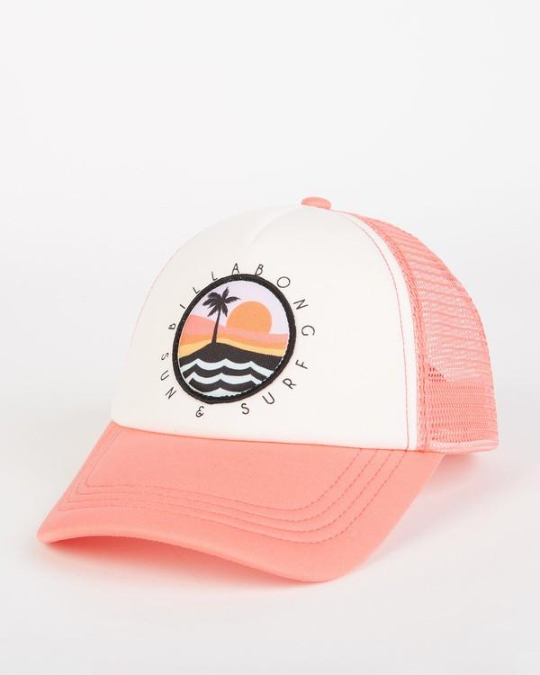 0 Girls' Ohana Trucker Hat Pink GAHWQBOH Billabong
