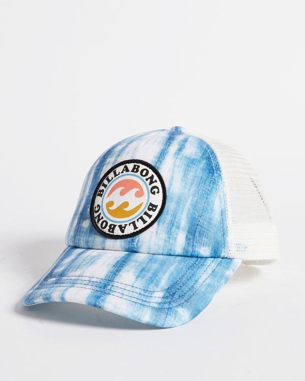 0 Girls' Shenanigans Trucker Hat Blue GAHWQBSH Billabong