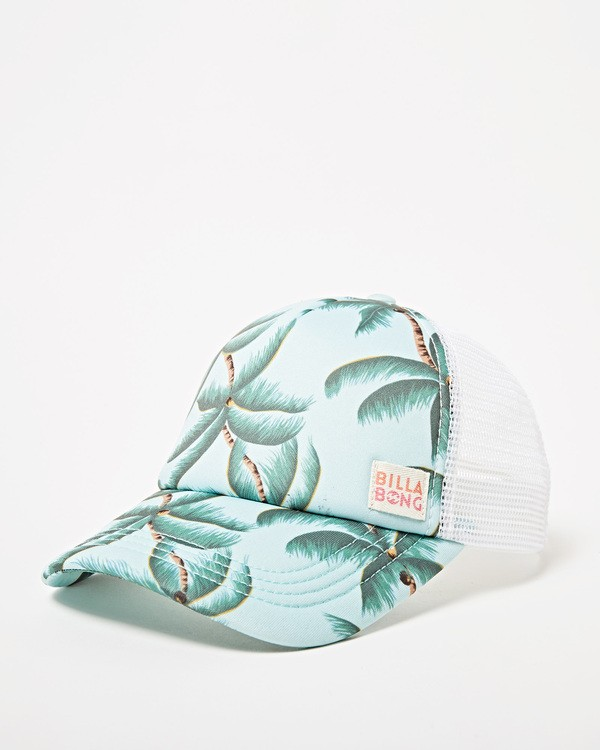 0 Girls' Shenanigans Trucker Hat Grey GAHWQBSH Billabong