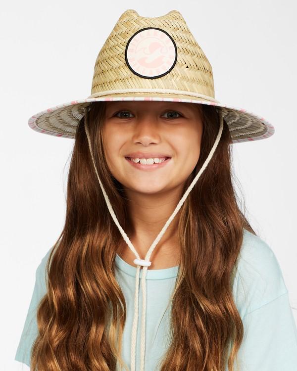 0 Girls' Beach Dayz Lifeguard Hat Orange GAHWTBBE Billabong