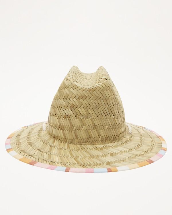 0 Girls' Beach Dayz Lifeguard Hat Yellow GAHWTBBE Billabong