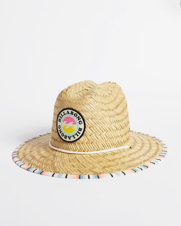 0 Girls' Beach Dayz Lifeguard Hat Red GAHWTBBE Billabong