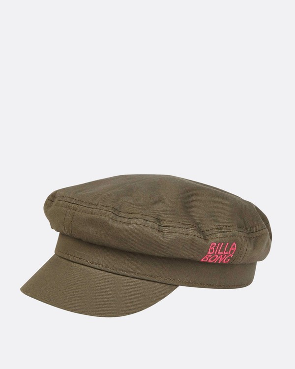 0 Girls' Jr Captain Captain Hat Green GAHWTBJR Billabong