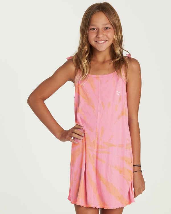 0 Girls' Beachy Babe Dress  GD02UBBE Billabong