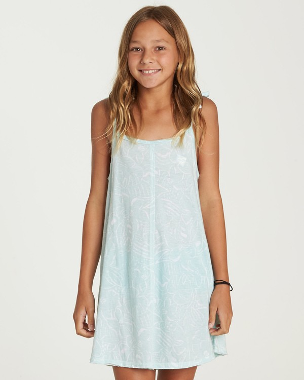0 Beachy Babe Dress Blue GD02UBBE Billabong