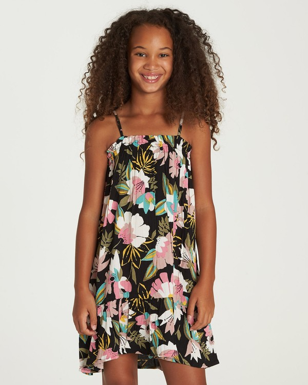 0 Girls' Love It All Dress Black GD06UBLO Billabong
