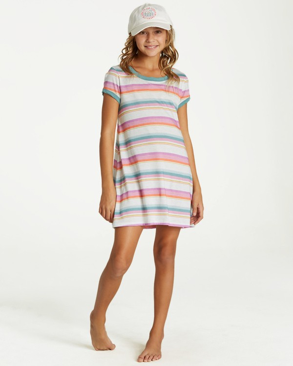 0 Girls' Play Parade Dress Black GD11VBPL Billabong