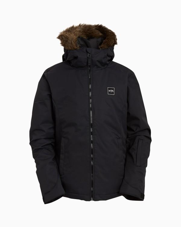 0 Girls' Sula Snow Jacket Black GSNJ3BSU Billabong