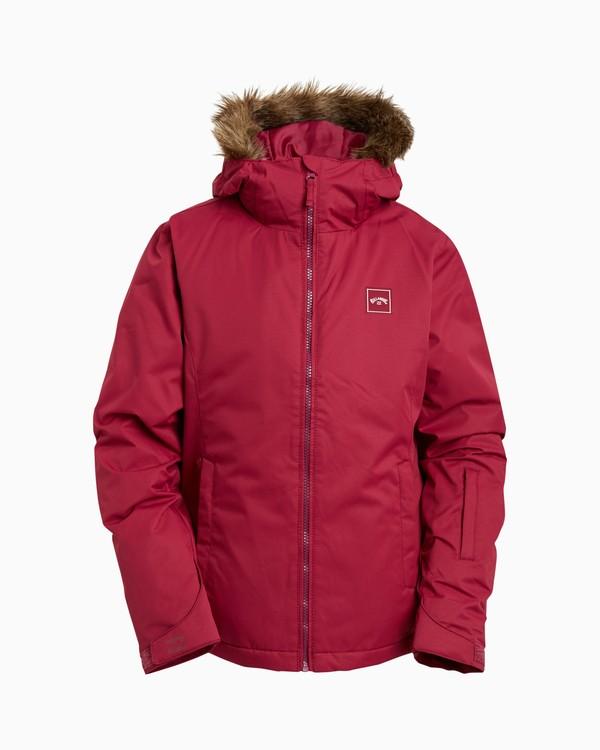 0 Girls' Sula Snow Jacket Red GSNJ3BSU Billabong