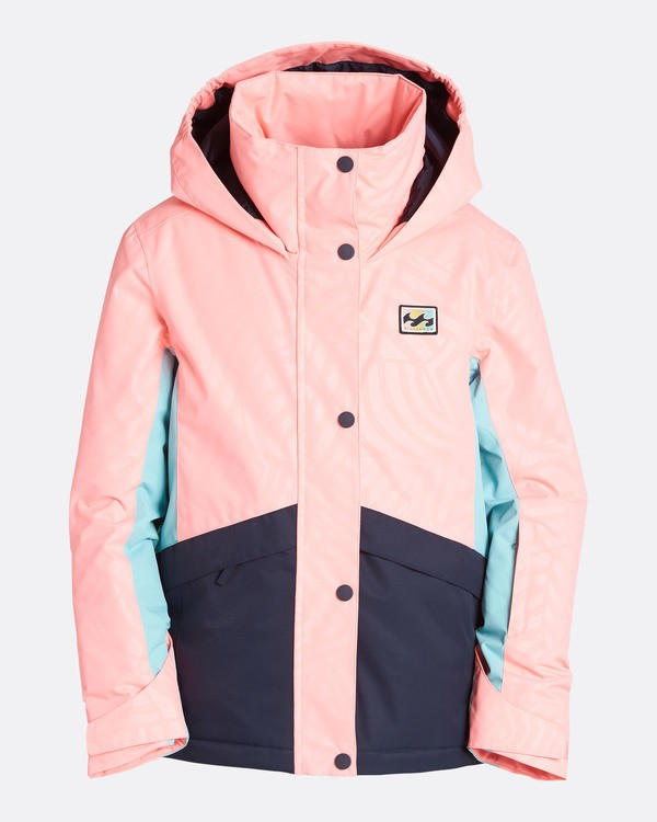 0 Girls' Kayla Outerwear Jacket Pink GSNJQKAY Billabong