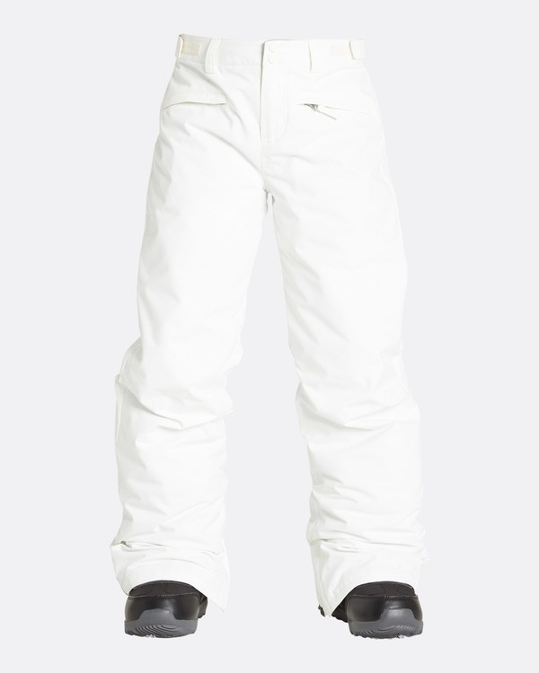 0 Girls' Alue Outerwear Pants White GSNPQALU Billabong