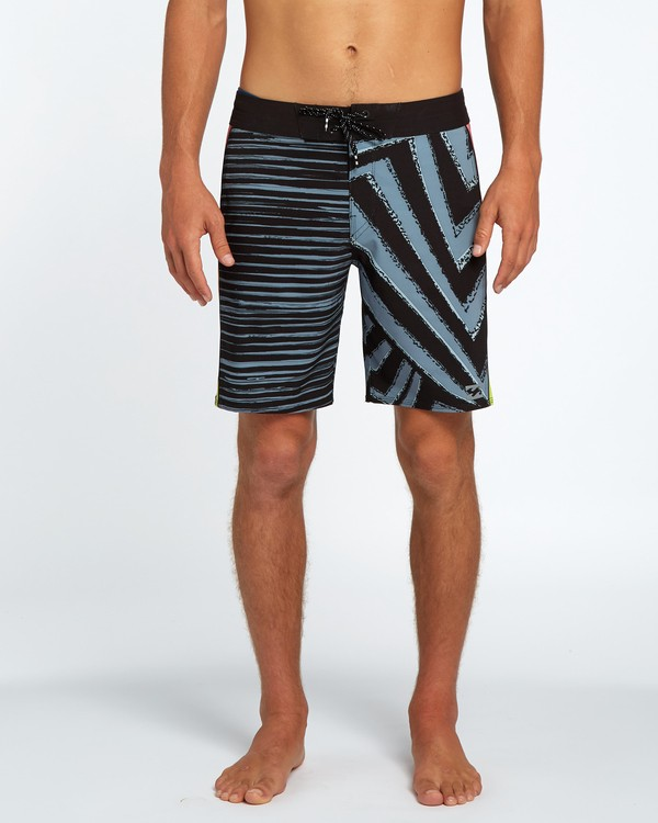 "0 D Bah Airlite 18"" Boardshort Black H1BS02BIP8 Billabong"