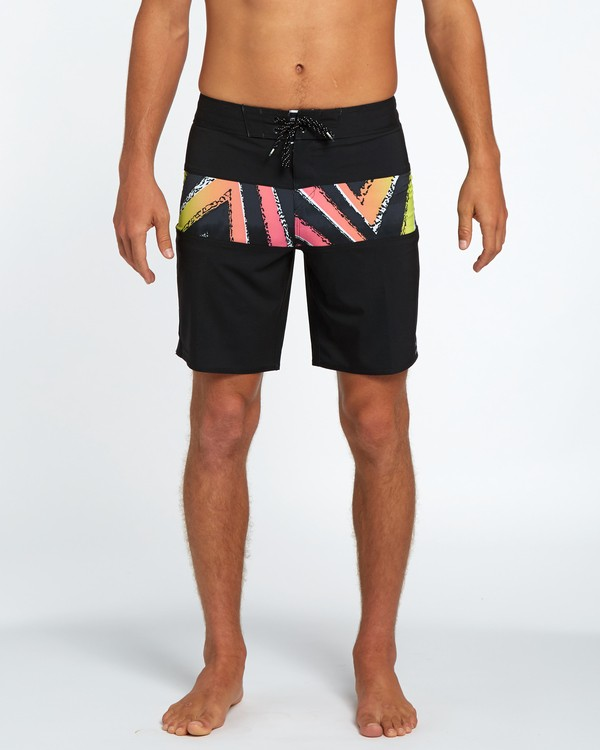"0 Tribong X 18"" Boardshort Black H1BS05BIP8 Billabong"