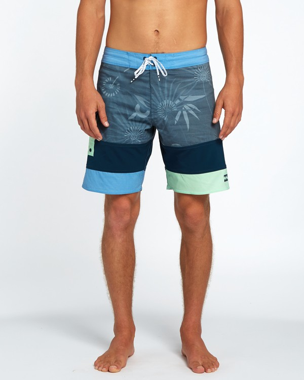 "0 Pump X 18"" Boardshorts Blue H1BS07BIP8 Billabong"