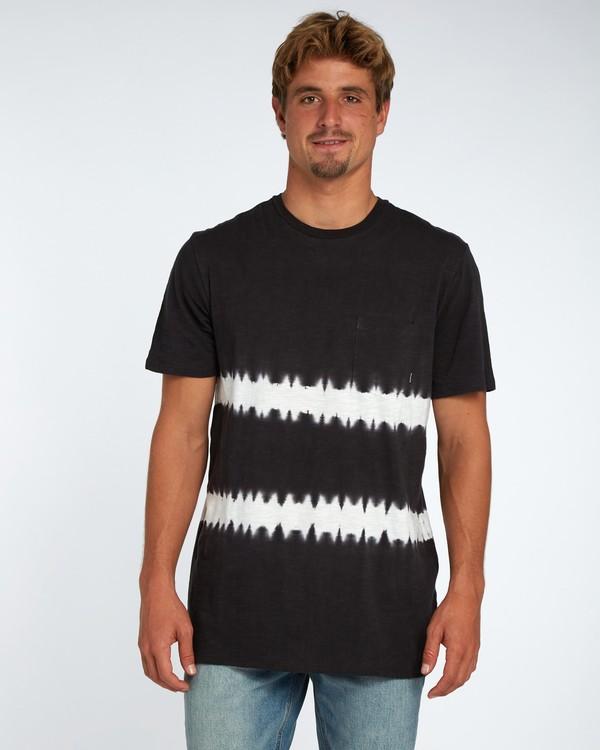 0 Riot T-Shirt Negro H1JE13BIP8 Billabong