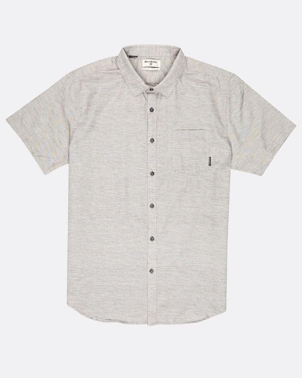 0 All Day Helix Shirt Gris H1SH05BIP8 Billabong