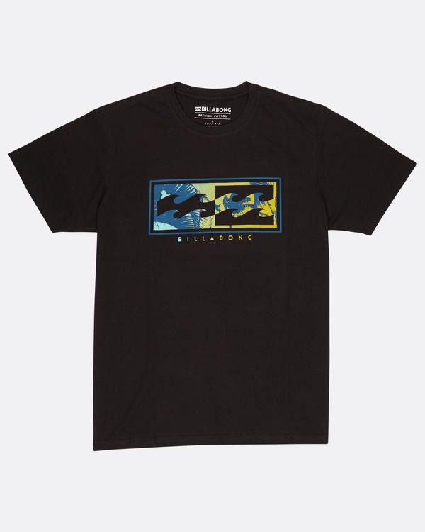 0 Inverse T-Shirt Noir H1SS05BIP8 Billabong