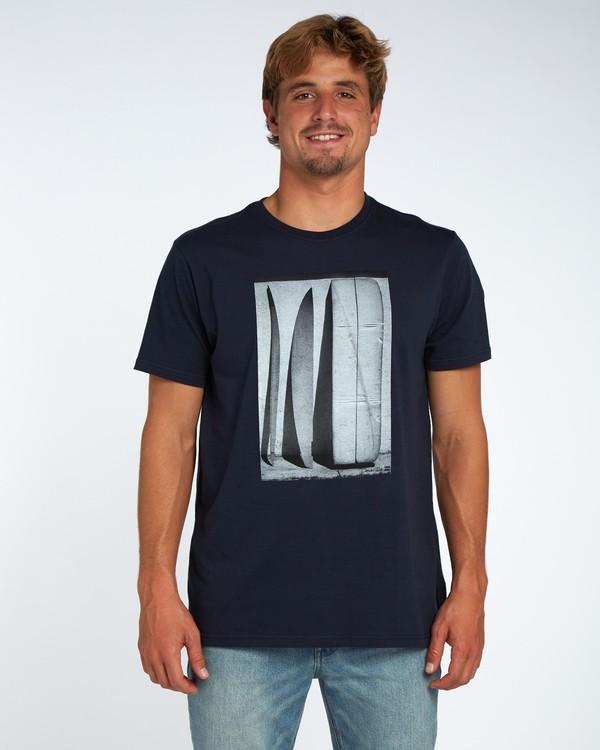 0 Blue Room T-Shirt Blue H1SS14BIP8 Billabong