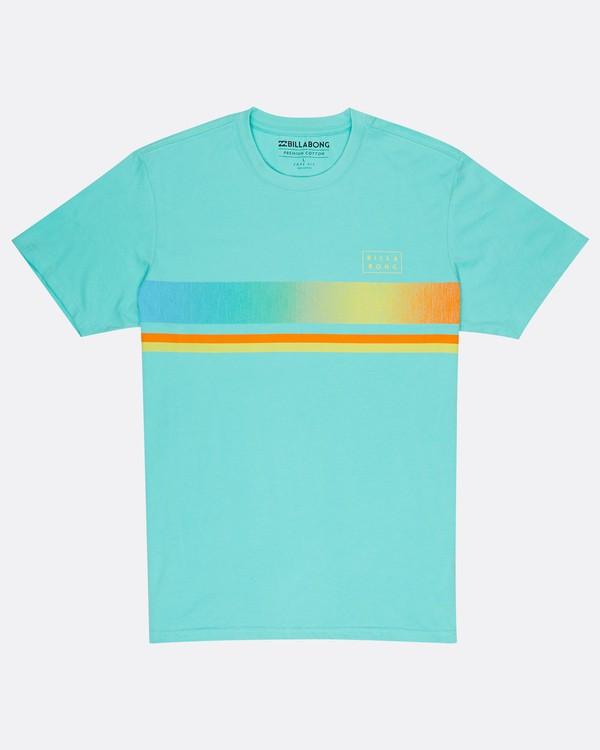 0 Team Stripe T-Shirt Bleu H1SS18BIP8 Billabong