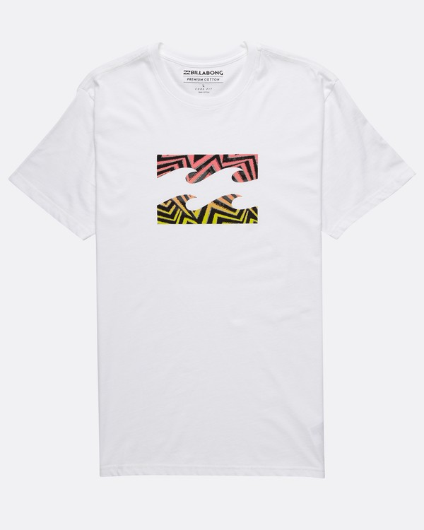 0 Team Wave T-Shirt Blanc H1SS23BIP8 Billabong