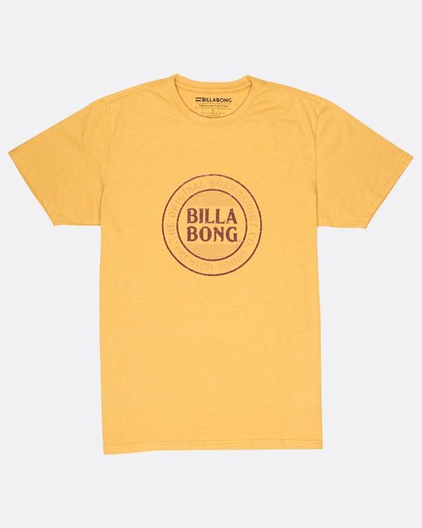0 Danapoint T-Shirt Amarillo H1SS29BIP8 Billabong