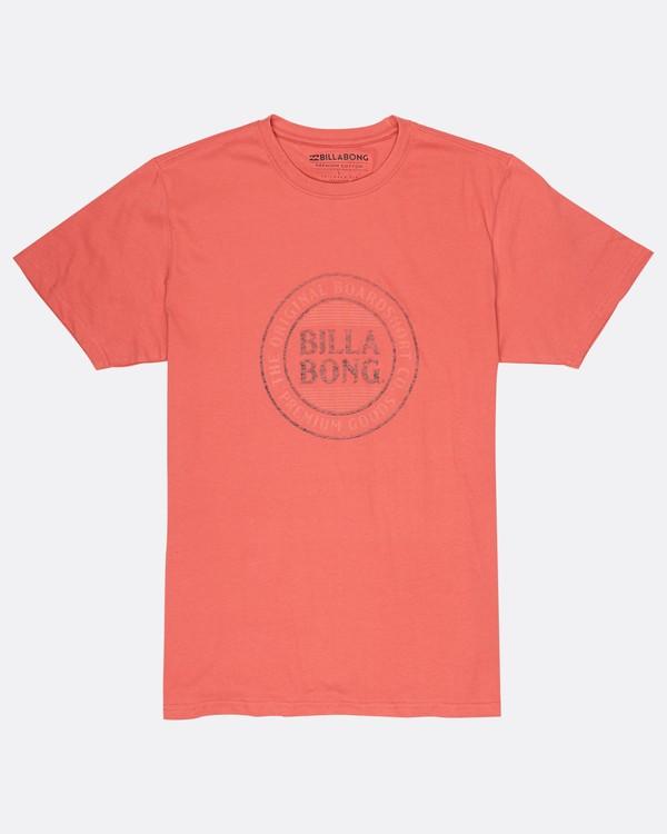 0 Danapoint T-Shirt Rojo H1SS29BIP8 Billabong