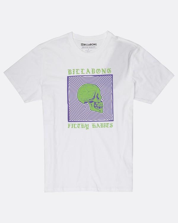 0 My Mind T-Shirt Blanc H1SS37BIP8 Billabong