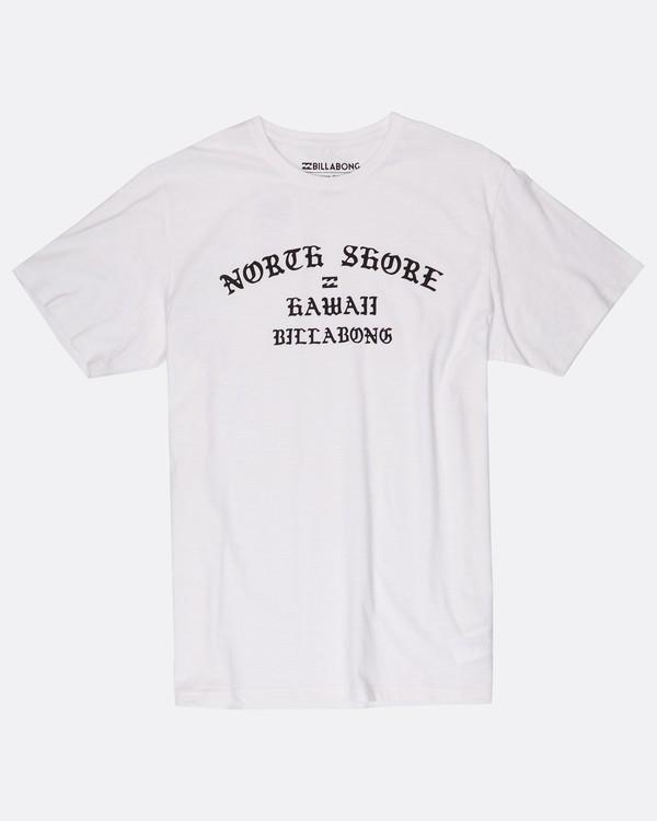 0 Oahu T-Shirt Blanc H1SS45BIP8 Billabong