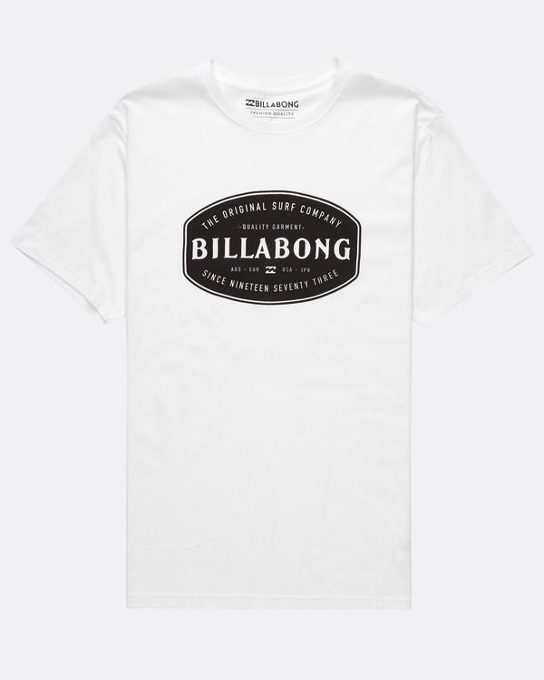 0 Pitstop T-Shirt  H1SS56BIMU Billabong