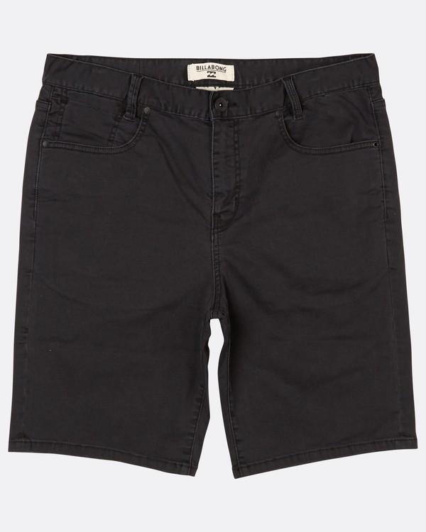 0 Outsider Denim Walkshort 20 Inches Noir H1WK14BIP8 Billabong