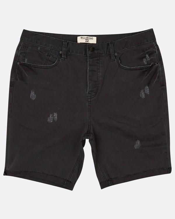 0 Fifty Denim Walkshort 19 Inches Noir H1WK15BIP8 Billabong
