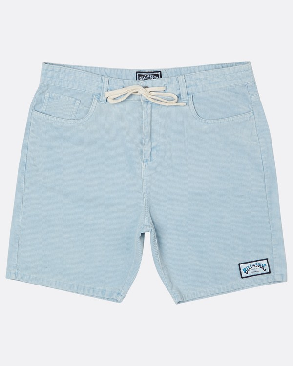 0 The Cord Short Walkshort 18 Inches Bleu H1WK19BIP8 Billabong